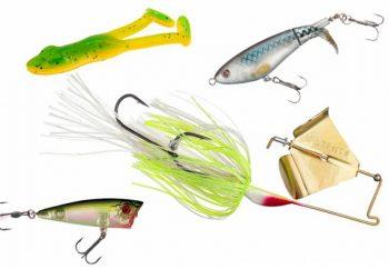Cebos de pesca - Tipos de señuelos de pesca