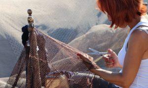 Historia y tipos de red de pesca
