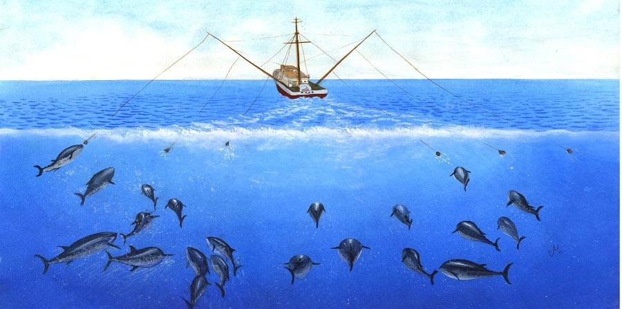 La pesca se define como aquella actividad que se realiza para extraer peces. Puede realizarse en aguas continentales o marítimas. Ancestralmente, la pesca ha consistido en una de las actividades económicas más tempranas de muchos pueblos del mundo. Wikipedia