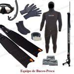 lista de equipo de pesca submarina Esencial que necesitarás