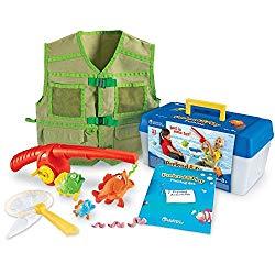 kit de juguetes de pescar con aprendisaje