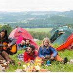 como acampar por ves primera, acampada por primera ves